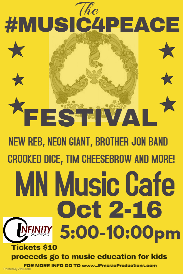 Music 4 Peace Festival – Oct 2nd 2016